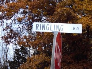 White Ringling Road